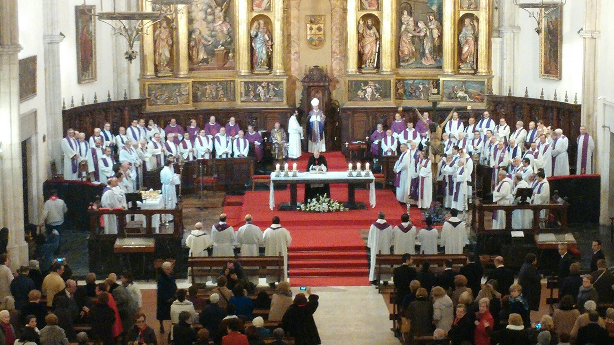 La apertura de la Puerta Santa de la Catedral de Ciudad Real , abre el Año Jubilar de la Misericordia