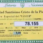 """SORTEO ESPECIAL DEL """"CÁNCER"""""""